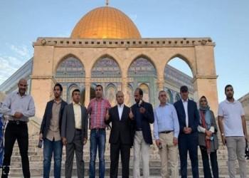 تحت حماية إسرائيلية.. وفد عماني يزور المسجد الأقصى