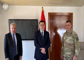 السفير الأمريكي بليبيا يطالب السراج بالبقاء في منصبه