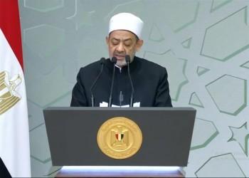 شيخ الأزهر ينتقد فرنسا أمام السيسي ويدعو لتشريع عالمي يجرم الإساءة للمسلمين
