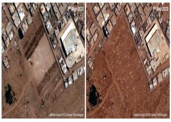 دراسة: صور أقمار صناعية للقبور تكشف أعداد وفيات كورونا في عدن