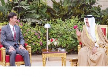 وزير الدفاع الأمريكي في المنامة.. ومباحثات مع ملك البحرين