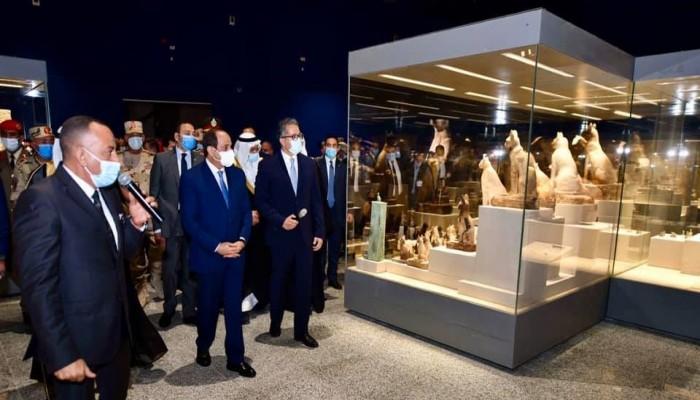 بتكلفة مليار جنيه.. افتتاح 3 مشاريع متاحف بمصر