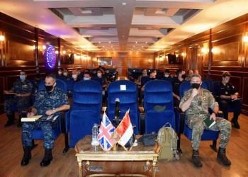 بعد فرنسا.. البحرية المصرية تتدرب مع البريطانية بالمتوسط (فيديو)