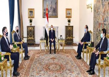 السيسي يستقبل رئيس الاستخبارات البريطانية بالقاهرة