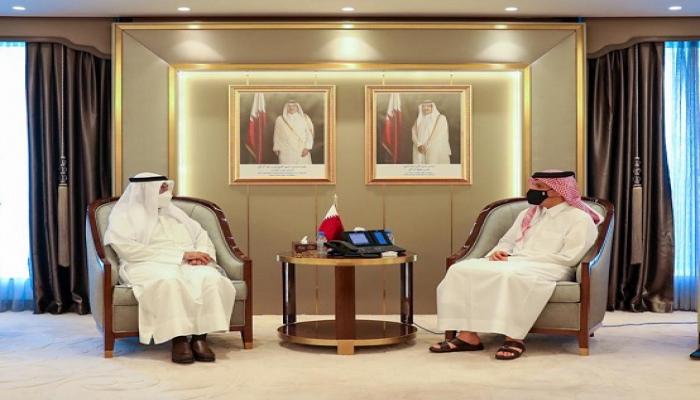 أمين التعاون الخليجي يلتقي وزير خارجية قطر.. هل اقتربت المصالحة؟