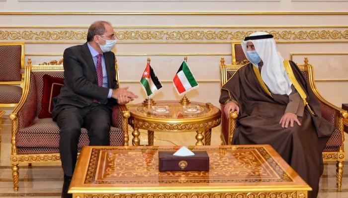 وزيرا خارجية الكويت والأردن يبحثان المستجدات الإقليمية