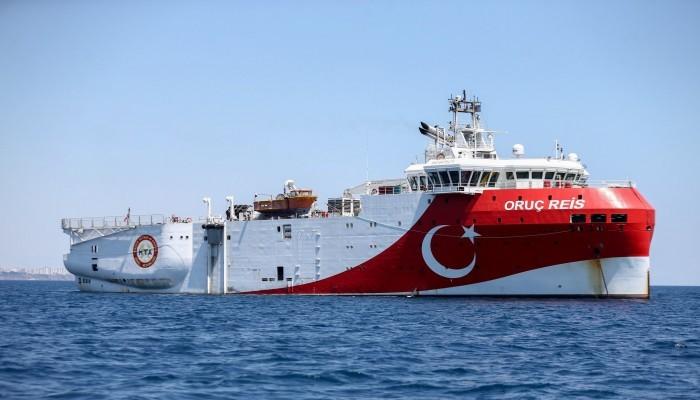تركيا تعيد سفينة أوروتش رئيس بعد إكمالها عمليات التنقيب عن الطاقة