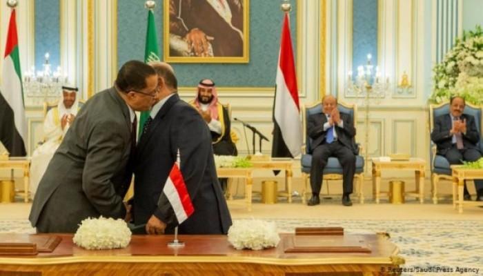 """التحالف العربي يعلن التوافق على حكومة يمنية مناصفة مع """"الانتقالي"""""""
