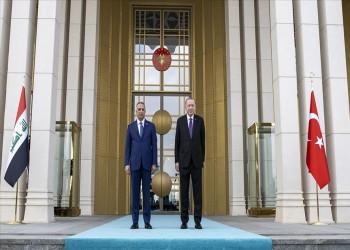 أردوغان يستقبل الكاظمي بالعاصمة أنقرة