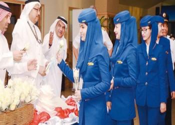 الخطوط السعودية تفتح الباب للمواطنات للعمل كمضيفات طيران