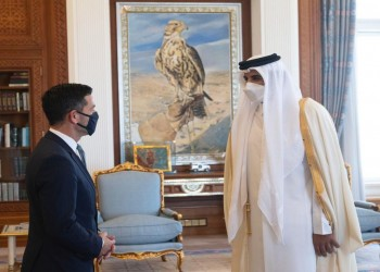 أمير قطر يستقبل مسؤولا أمنيا أمريكيا بالدوحة