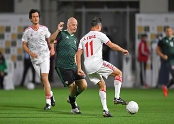 الإمارات تستضيف مباراة استعراضية بمشاركة إنفانتينو