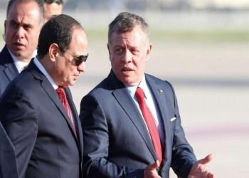 مباحثات بين الرئيس المصري وعاهل الأردن الاثنين المقبل