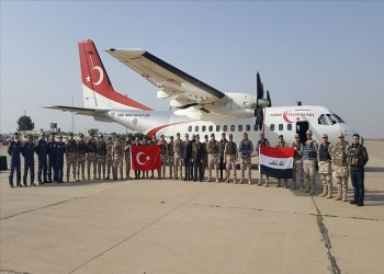 مهمة عسكرية.. تركيا ترسل 25 مستشارا إلى العراق