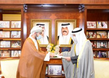 وزير الخارجية الكويتي يتسلم رسالة خطية للأمير من سلطان عُمان