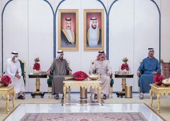ملك البحرين يبحث مع قادة الإمارات تعزيز العلاقات بين البلدين