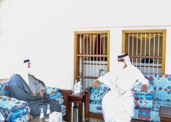 أمير قطر ووزير دفاع الكويت يبحثان تعزيز العلاقات