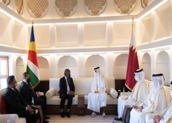 أمير قطر ورئيس سيشل يبحثان التعاون الثنائي بين البلدين