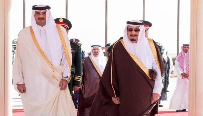 الأول منذ المصالحة.. أمير قطر يهنئ العاهل السعودي هاتفيا بحلول رمضان