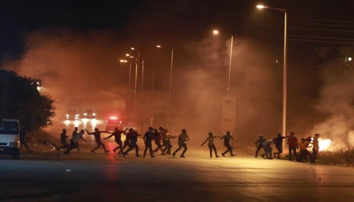 الاحتلال يعتدي على مسيرات بالضفة تضامنت مع الأقصى وغزة