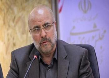 رئيس البرلمان الإيراني يشيد بالمقاومة ويؤكد فشل صفقة القرن