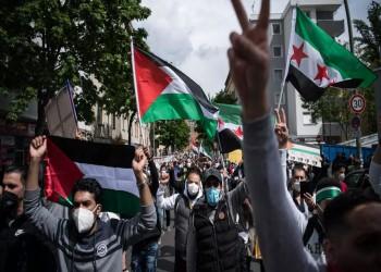 برلين.. الآلاف يتضامنون مع الشعب الفلسطيني في وقفة احتجاجية