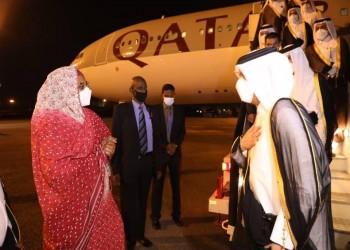وزير خارجية قطر يصل السودان للقاء البرهان وحمدوك وحميدتي
