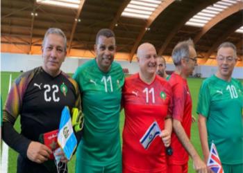 المغرب.. ممثل إسرائيل يشارك بمباراة مع دبلوماسيين ولاعبين سابقين