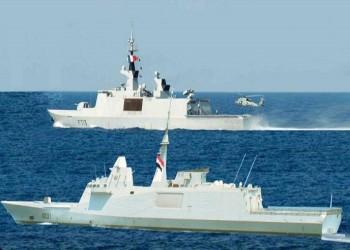 مصر وفرنسا تنفذان تدريبا عابرا في البحر المتوسط