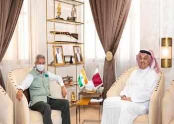 قطر.. وزير دفاع قطر يجتمع مع وزير الشؤون الخارجية الهندي
