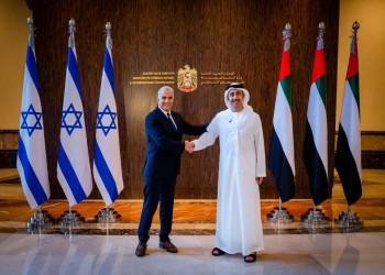 وزير الخارجية الإماراتي يبحث مع نظيره الإسرائيلي توقيع اتفاقية للتجارة الحرة
