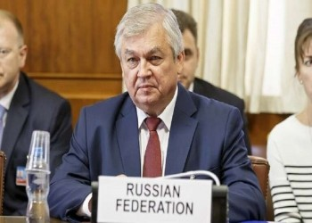 المبعوث الروسي لسوريا: الانسحاب الأمريكي من أفغانستان إشارة للأكراد