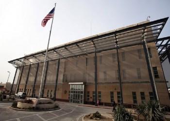 سقوط صاروخين قرب السفارة الأمريكية في بغداد