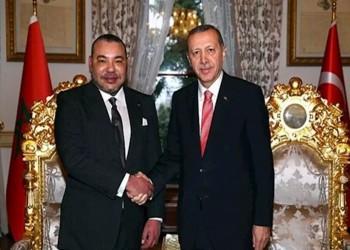 هنأه بعيد العرش.. أردوغان يؤكد لملك المغرب أهمية تعزيز العلاقات الثنائية