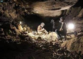 علماء يكتشفون مئات الآلاف من عظام الحيوانات والبشر في كهف بالسعودية