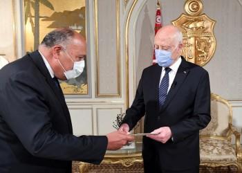 وزير الخارجية المصري يصل إلى تونس حاملا رسالة من السيسي لسعيد