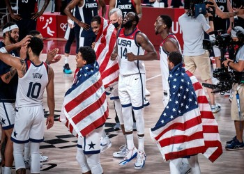 أولمبياد طوكيو.. أمريكا تثأر من فرنسا وتحصد ذهبية كرة السلة