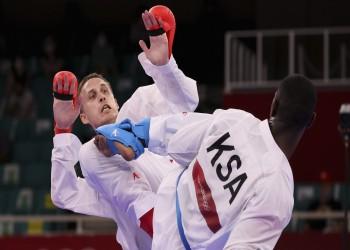 أولمبياد طوكيو.. حامدي يضمن أول ميدالية للسعودية بتأهله لنصف نهائي الكاراتيه