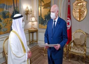 خلال لقاء قيس سعيد.. قرقاش: الإمارات تدعم قرارات الرئيس التونسي