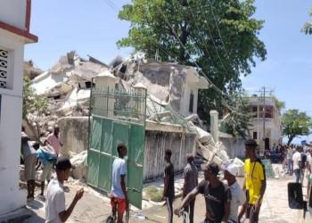 الإصابات تلامس 10 آلاف.. وفيات زلزال هايتي تسجل 1941 قتيلا