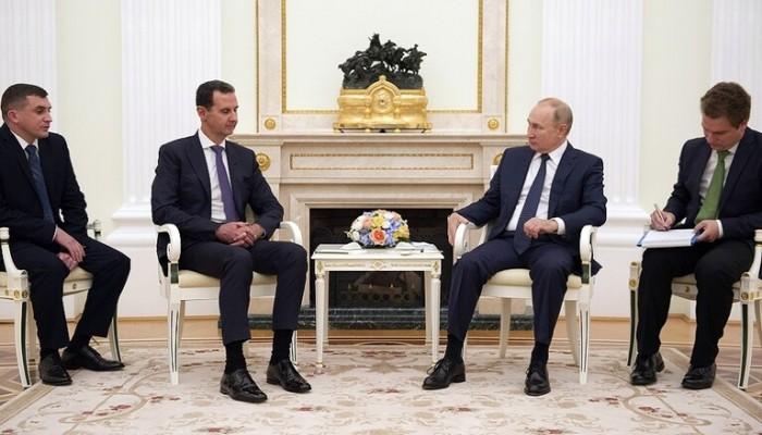 خلال لقائه الأسد.. بوتين يمتدح إجراءه حوارا مع المعارضين