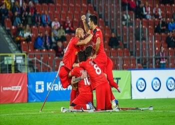 للمرة الثانية.. تركيا بطلة أوروبا لكرة القدم لمبتوري الأطراف