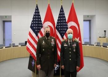 رئيسا أركان تركيا والولايات المتحدة يبحثان قضايا أمنية