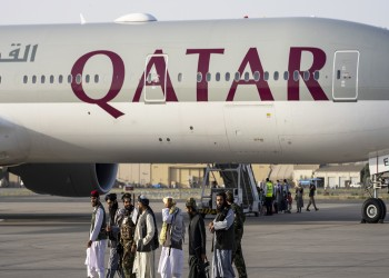خامس طائرة قطرية تجلي أفغانا وأجانب من كابل
